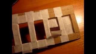 Как сделать стены дома для макета; Макеты домов(, 2015-01-08T21:33:11.000Z)
