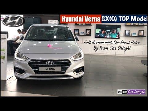 Hyundai Verna 2018 SXO Top Model Detailed Full Review | Team Car Delight