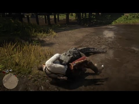 Ataque de Crocodilo - Red Dead Redemption 2 thumbnail