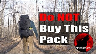 Don't Buy This Backpack - AmazonBasics Hiking Backpack