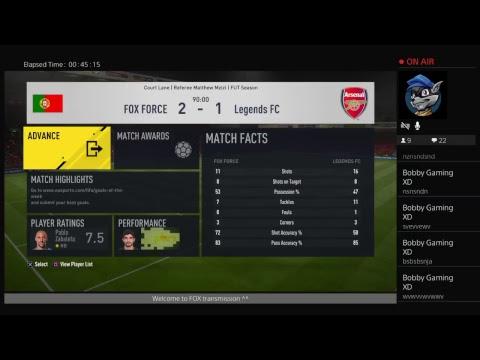 Edward_FOX_86 Epic Live Fifa FUT