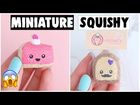 DIY REAL MINIATURE SQUISHIES! - Worlds Smallest Squishy Stress Ball