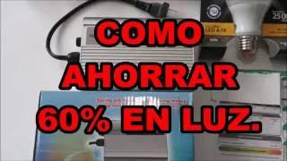 ►AHORRA 60% EN RECIBO DE LA LUZ, TRUCO LEGAL Y RAPIDO, *RESULTADOS*