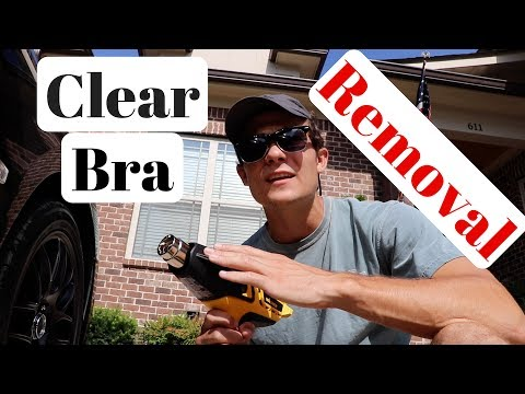 Clear Bra Paint Protection Film Removal:  How To and What To Use!