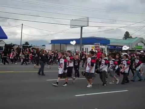 Canada Day Parade - Abbotsford Falcon's