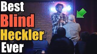 Blind heckler makes comedians day   Aba Atlas