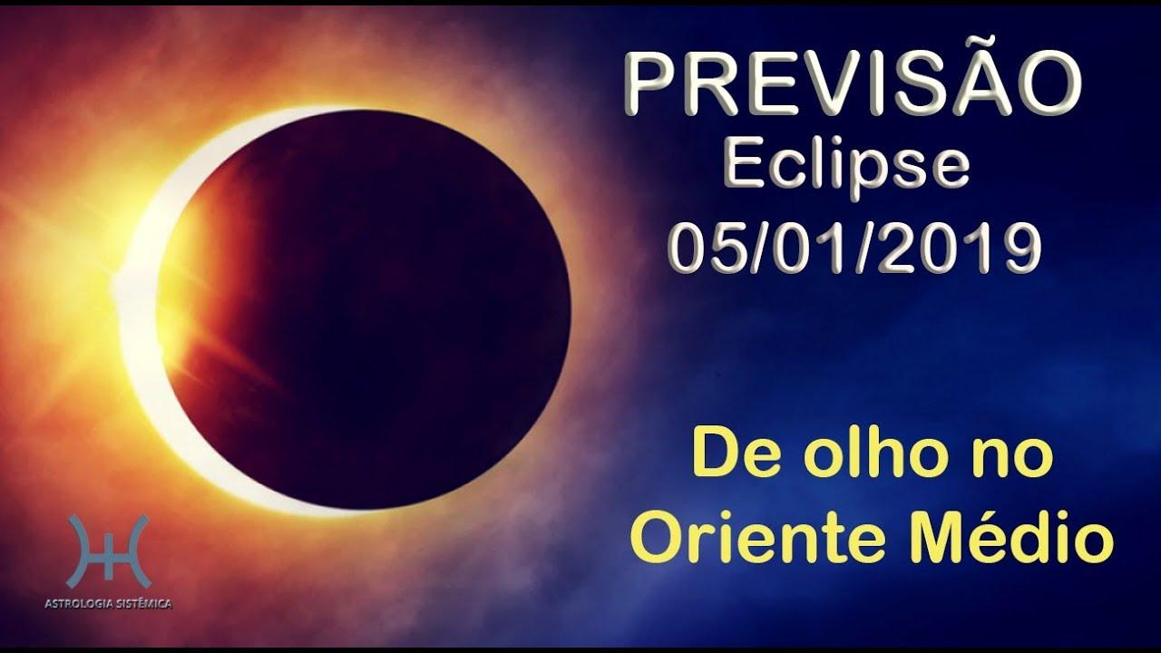 PREVISÃO - ECLIPSE DE JANEIRO DE 2019: DE OLHO NO ORIENTE MÉDIO