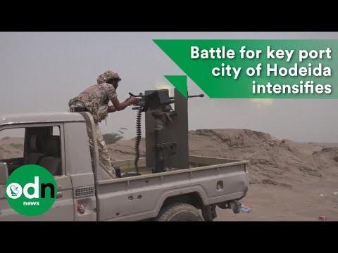 Yemen: Battle for key port city of Hodeida intensifies