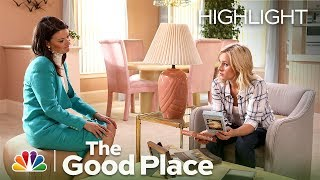 the good place welcome to the medium place episode highlight