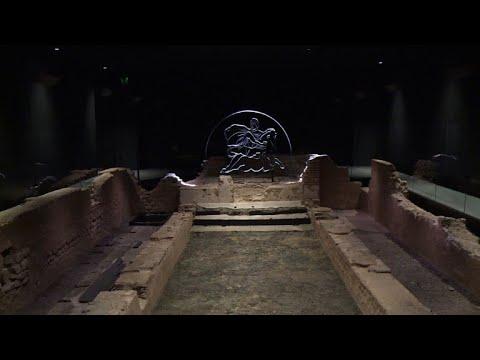 Roman temple restored deep under City of London