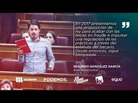 Segundo González:
