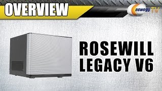 Rosewill Mini-ITX V6 Computer Case Overview - Newegg TV
