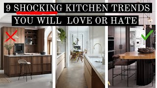 9 SHOCKING KITCHEN TRENDS for 2022 | YOU WILL EITHER LOVE OR HATE THESE!