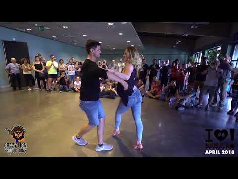 Chami & Julia [ No Vaya a Ser by DJ Ryan Miles ] @I Love Bachata Leuven 18