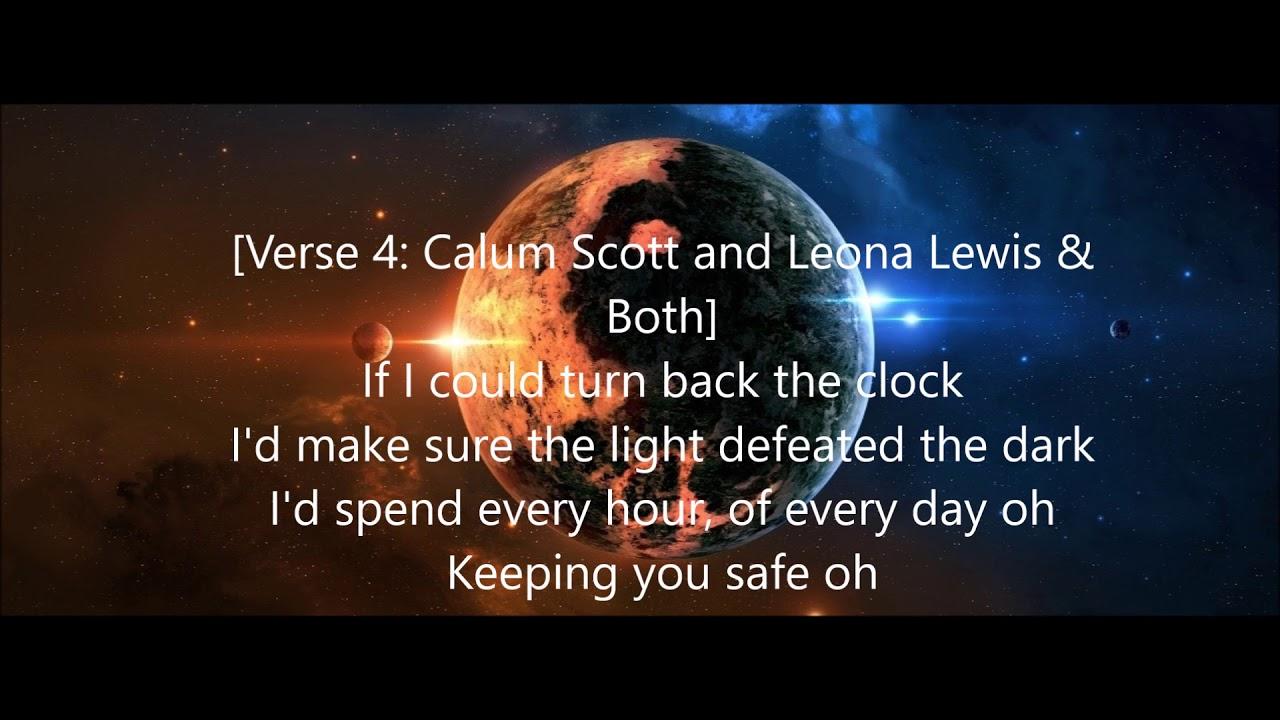Download callum scott & leona lewis you are the reason lyrics
