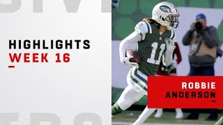 Every catch from Robby Anderson's big day | Week 16