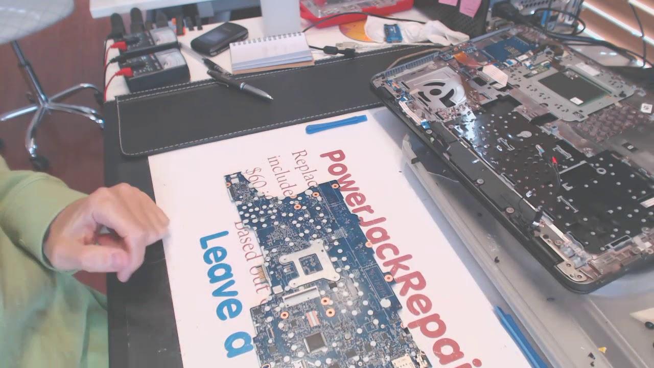 hp zbook 15u g4 Laptop dc power jack repair fix problems broken dc socket  input port