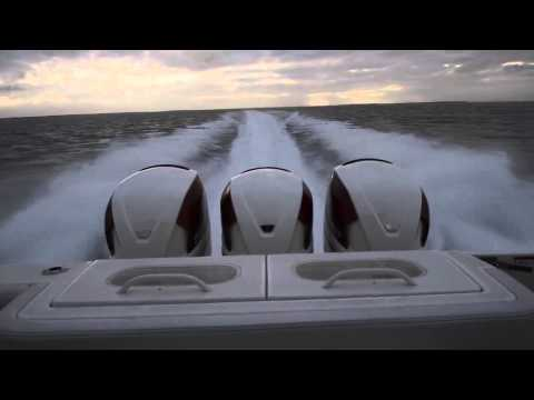 HydraSports Custom 42SF withTriple Seven Marine 557s