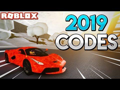 EVERY WORKING CODE in Vehicle Simulator!! (2019) - Roblox