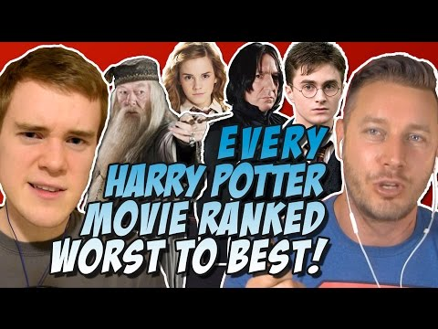Every Harry Potter Movie Ranked & Reviewed Worst to Best