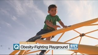 West Sacramento Playground Equipment Geared Toward Fighting Childhood Obesity