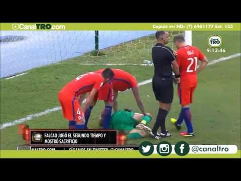 Deportes TRO  - Brasil golea a Argentina y Colombia no pudo superar a Chile en Barranquilla