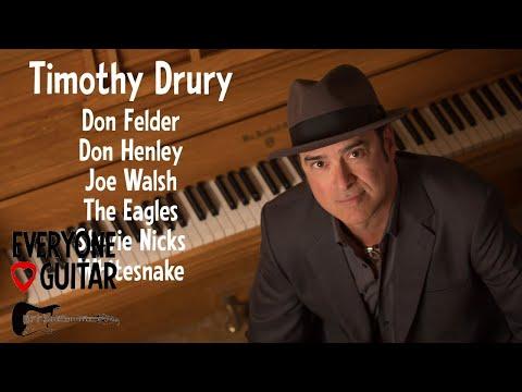 Timothy Drury Interview - The Eagles, Don Henley, Joe Walsh, Whitesnake - Everyone Loves Guitar #170