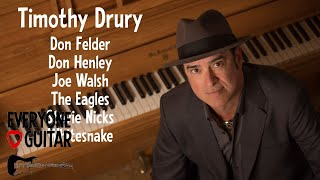 """Timothy Drury Interview: """"How I got the gig with The Eagles, Don Henley, Joe Walsh & Whitesnake..."""""""