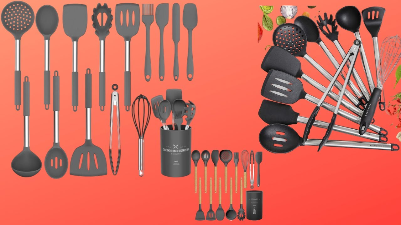 Best 4 Kitchen cooking utensils set on AMAZON