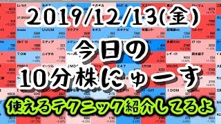 【JumpingPoint!!の10分株ニュース】2019年12月13日(金) thumbnail