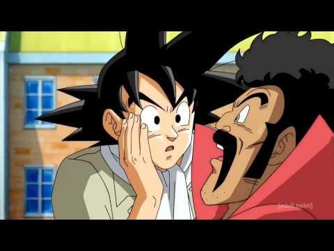 Goku receives a