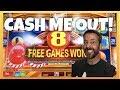 5 different slot machines, $20 each CASH ME OUT! SAN MANUEL CASINO!