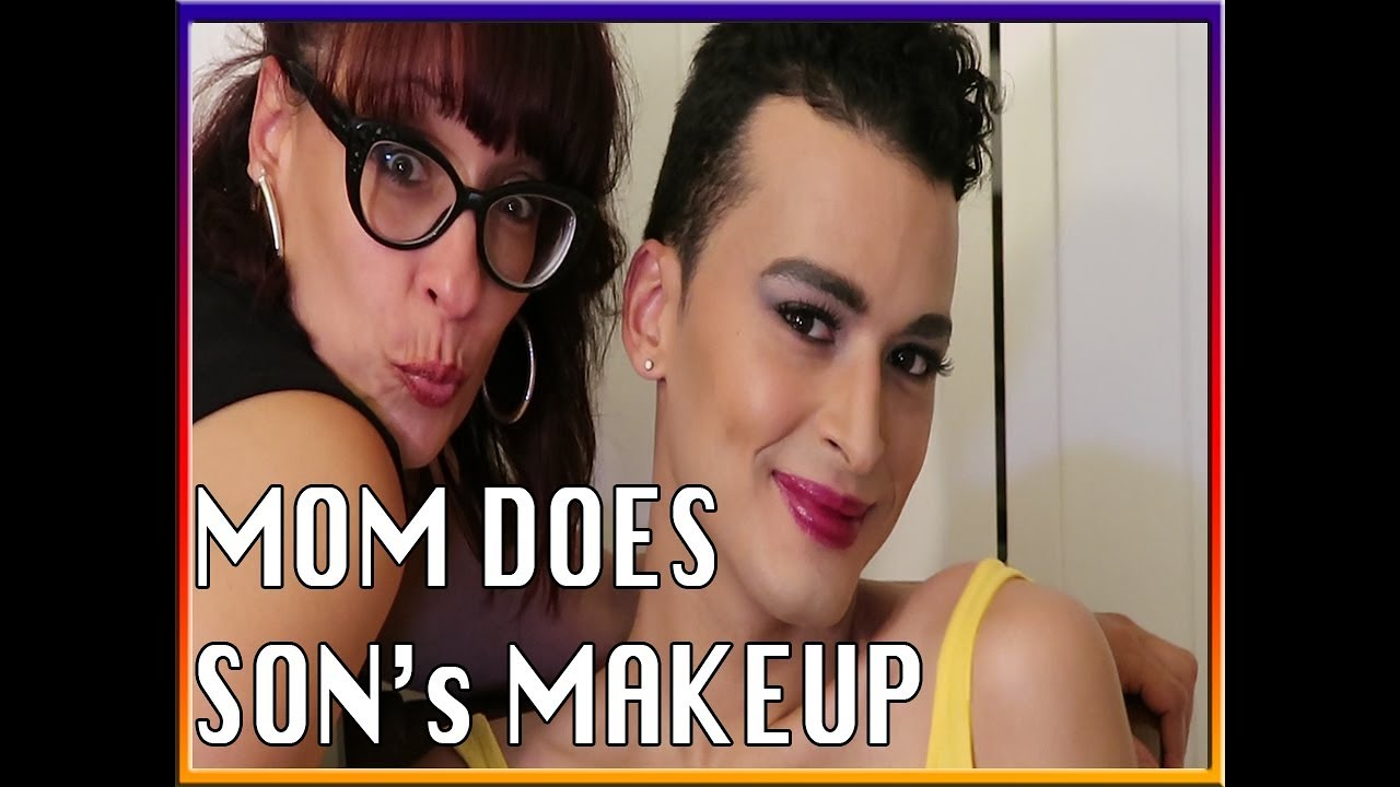 Mother Applies Son S Makeup Turned