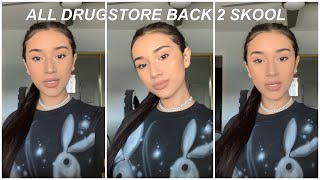 DRUGSTORE BACK TO SCHOOL MAKEUP & HAIR