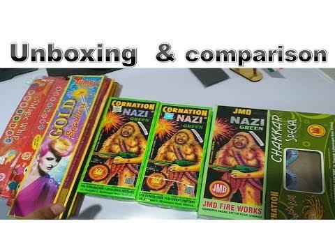 unboxing  & comaprison  farukh nager cracker   2018