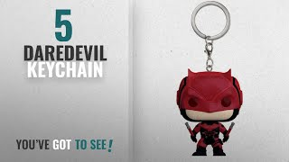 Top 10 Daredevil Keychain [2018]: Funko Pocket Pop Keychain: Daredevil TV Action Figure