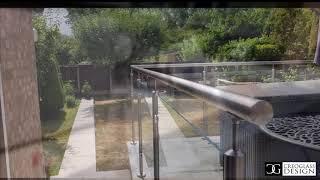 GLASS DECKING BALUSTRADE!