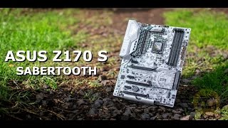 uNBOXING  ASUS TUF Sabertooth Z170 S Motherboard