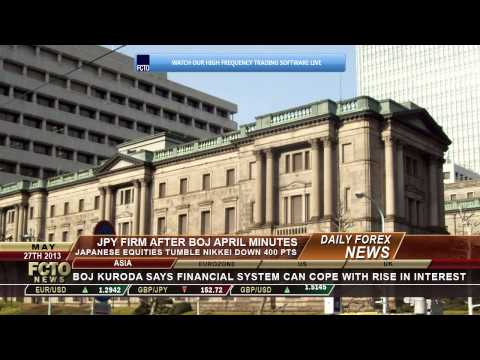 Daily Forex News May 27th 2013