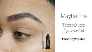 Maybelline Tatoo Studio Brow Gel