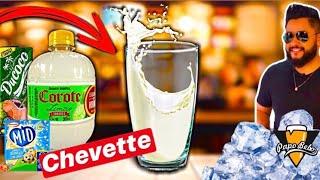 COMO FAZER CHEVETTE com COROTE de Limão e Suco de BAUNILHA - DRINK