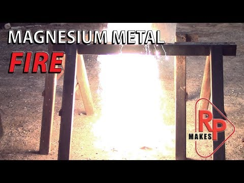 Magnesium Fire: The Most Dangerous Metal In The Machine Shop