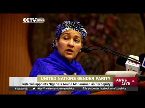 UN's Guterres appoints Nigeria's Amina Mohammed as his deputy