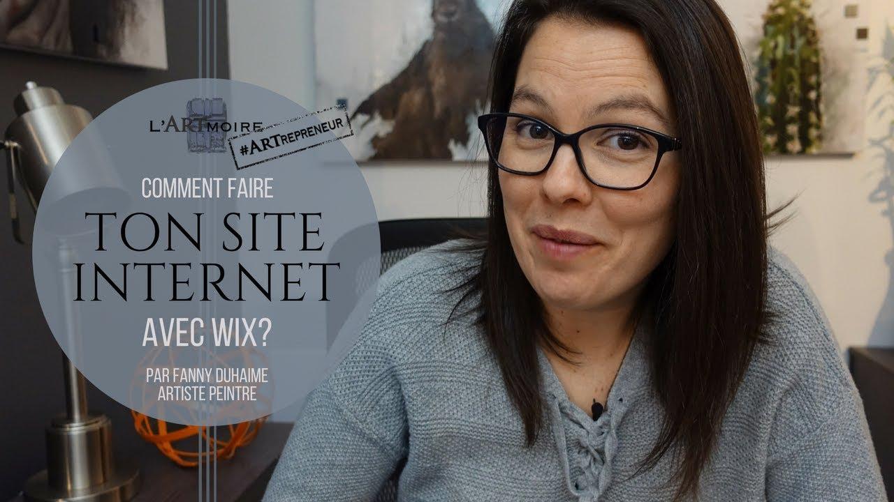 Site Des Artistes Peintres how to build rour free website with wix | fanny duhaime artiste peintre