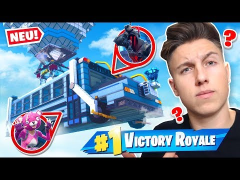 7000 IQ VERSTECK im BATTLE BUS! Fortnite HIDE and SEEK!