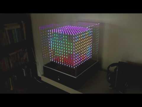 LED Cube RGB 12x12x12 (Flip's Cubicle)