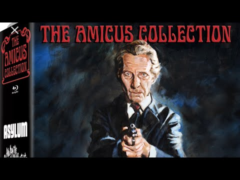 Severin Films The Amicus Collection Unboxing, Limited Edition BoxSet, Plus 88 Films Cat in the Brain