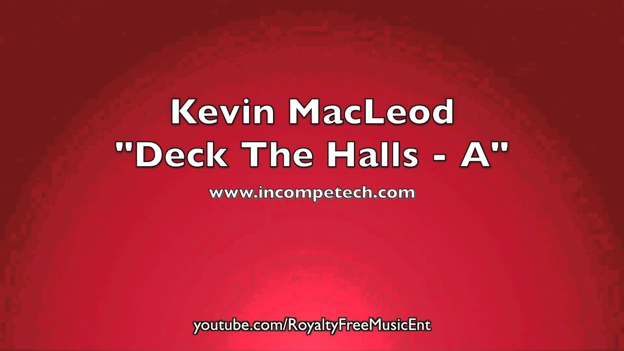 Deck The Halls Royalty Free