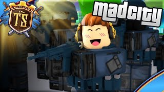 MY VERY OWN S. W. A. T TEAM WITH FANS! -Mad City | Danish Roblox