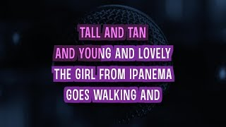 The Girl From Ipanema (Karaoke Version) - Amy Winehouse | TracksPlanet